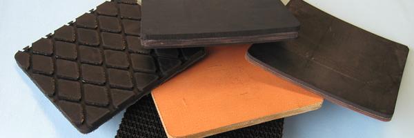 Tappeti per nastri trasportatori in gomma
