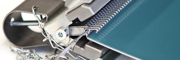 Nastri con giunzioni metalliche - Uciesse Nastri Trasportatori